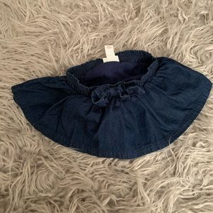 0-3M Cat & Jack Denim Skirt